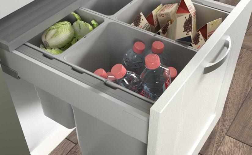 Can I put a waste bin in a kitchen unit?