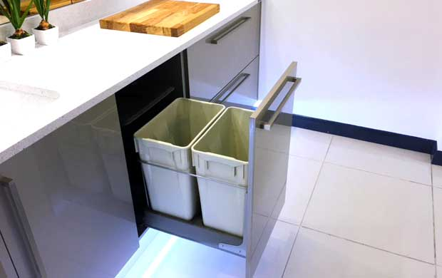 Waste bin example