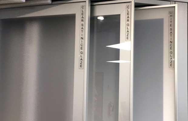 3 glazed door options