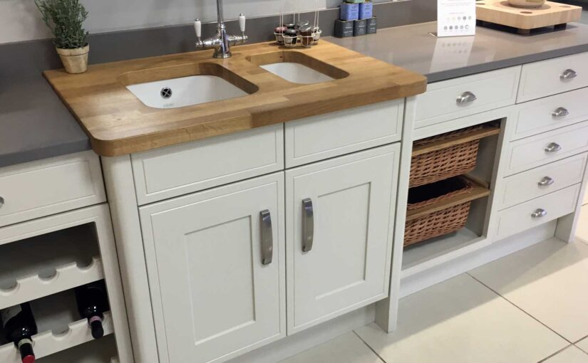 Can I use a Belfast sink with a laminate worktop?