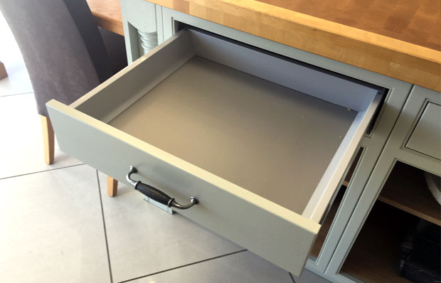In-frame drawer