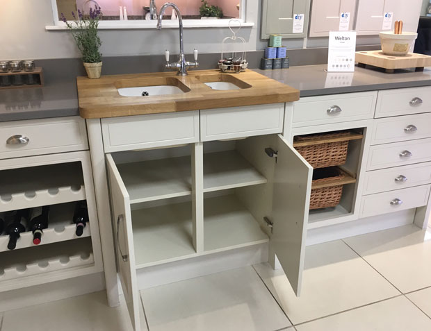 Do Your Sink Base Units Have A Back Panel Diy Kitchens Advice