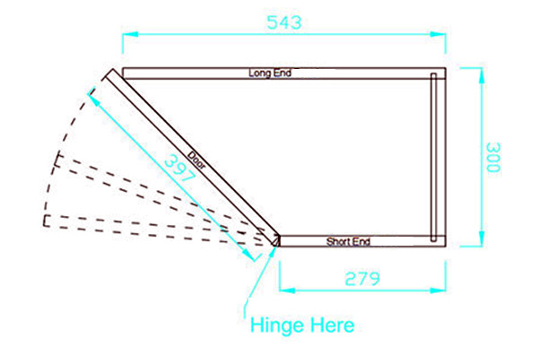Angled base unit diagram