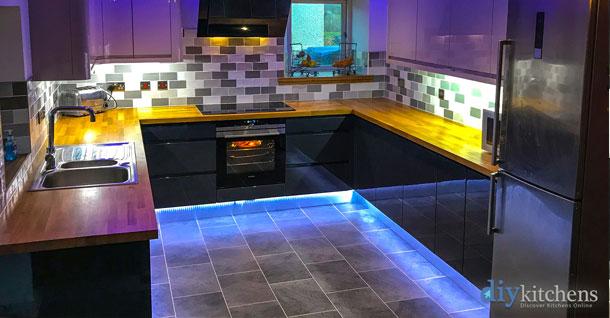 LED plinth lighting