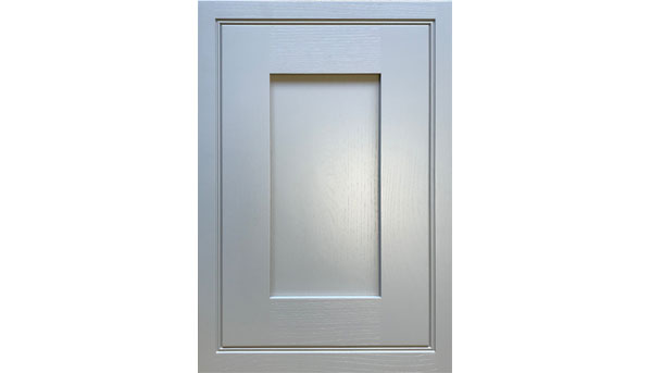 In-frame appliance door