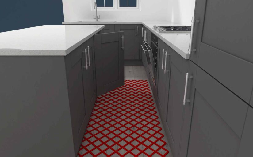 Kitchen walkways