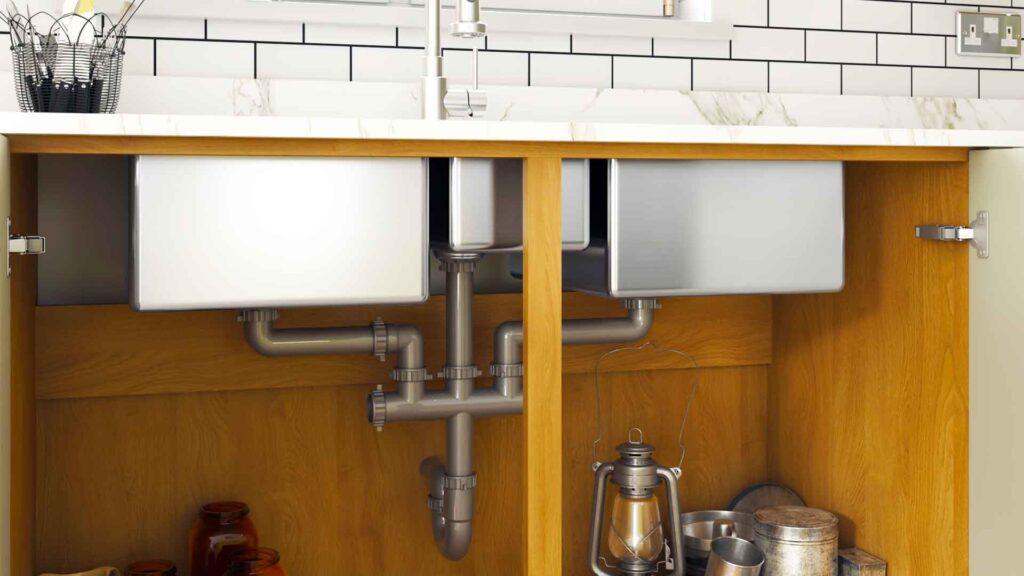 Plumbing kit sink