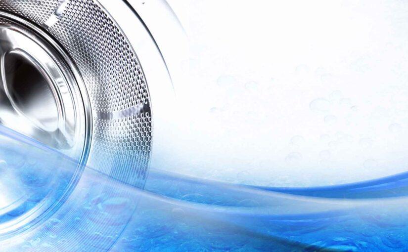 Integrated washing machine depths