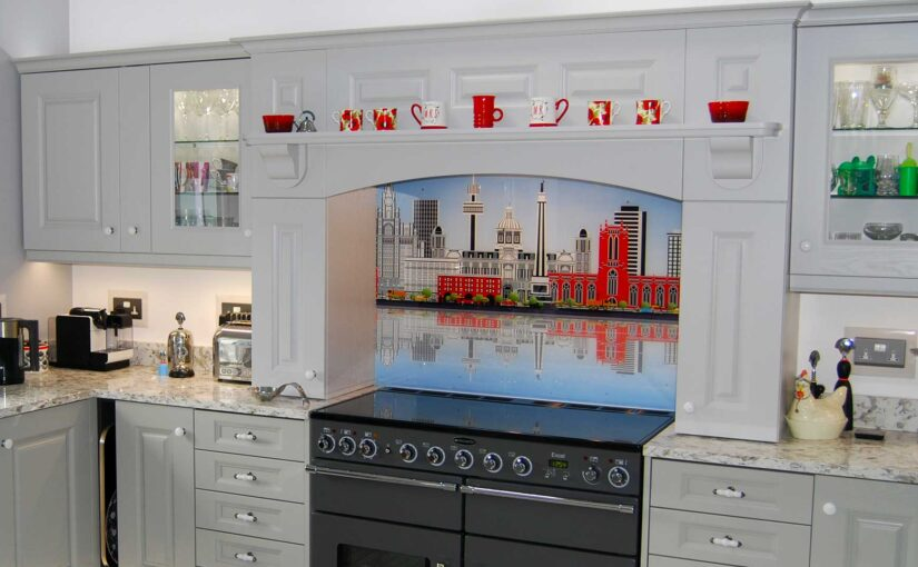 How do I create a kitchen mantle with your units?